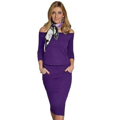High Quality Elegant Dress $39 (Purple) - Kwikibuy.com™® Official Site