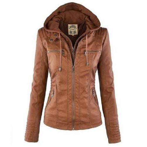 Shop-Now-Hooded-Leather-Jacket-Brown-Kwikibuy.com-All-Women-Clothing-Jacket-Coat