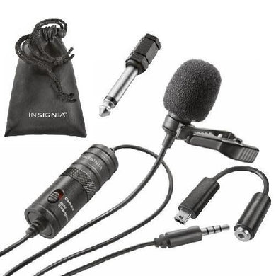Insignia Lapel Microphones  - Kwikibuy Amazon Global