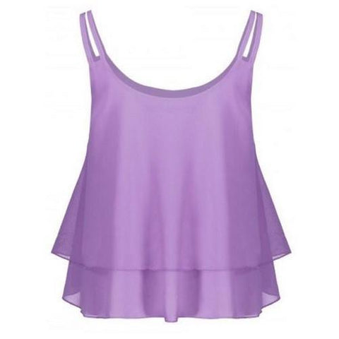 Chiffon Cami Top $16.01 - God Degree Clothing And Accessories™® - GD's™®