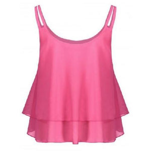 Chiffon Cami Top (3 Sizes - 4 Colors)  - Kwikibuy Amazon Global