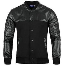 Load image into Gallery viewer, Leather-Leisure-Jacket-Black  - Kwikibuy Amazon Global