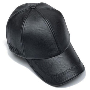 Leather Baseball Cap (3 Colors)  - Kwikibuy Amazon Global