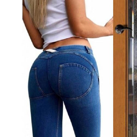 $29 Curve Enhancing Jeans (Blue) - Kwikibuy.com™® Official Site