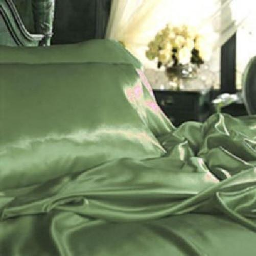 Quality Satin Sheet Sets (Sage Green) - Kwikibuy Amazon
