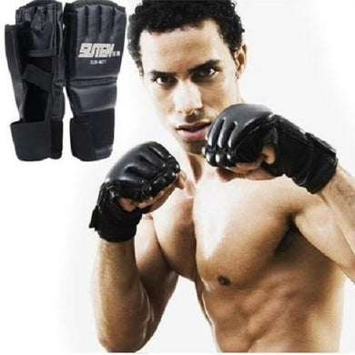 Ultimate Fighting Mitts - Kwikibuy Amazon Global Material: Leather Colors: Black The perfect design can helps regulate hand temperature. Use Made of leather
