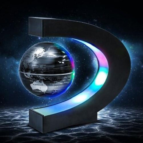 Shop-Now-Levitating-Globe-L-E-D-Night-Light-Black-Kwikibuy.com-Decoration