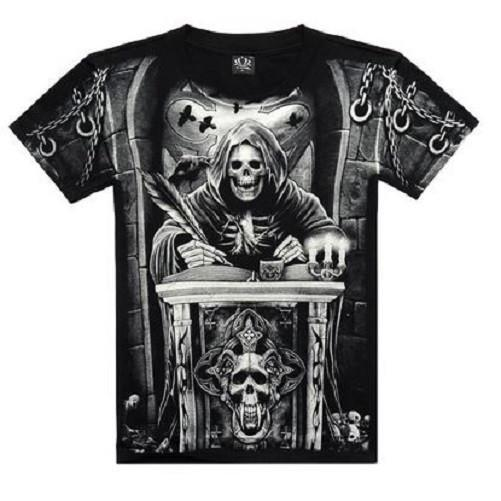 Death Clerk 3-D Printed T-Shirts  - Kwikibuy Amazon Global