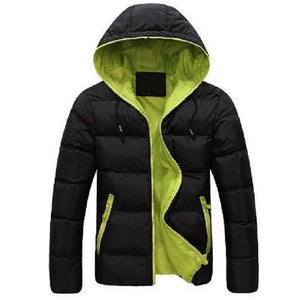 Black-and-Green-Parka  - Kwikibuy Amazon Global