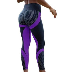 Mesh Print Leggings *7) Colors - 4 Sizes)  - Kwikibuy Amazon Global