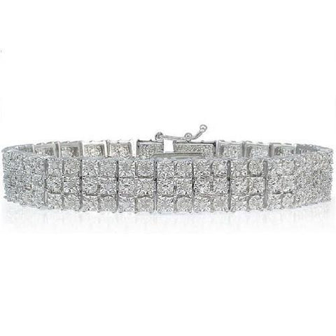 1.00 CTTW Miracle-Set Diamond Bracelet $274.01 - God Degree Clothing And Accessories - GD's