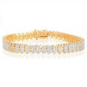 🍀 Diamond Accent Tennis Bracelet  - Kwikibuy Amazon Global