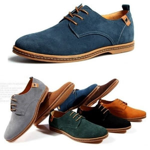 Breathable Leather Shoes (11 Sizes - *7) Colors