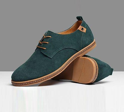 Breathable  British Leather Shoes $29.99 Green - Kwikibuy.com™®