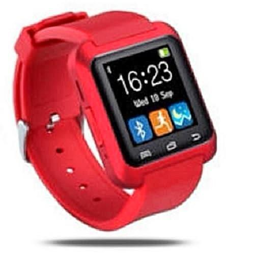 Smart Bluetooth Watch Phone Mate (Red) - Kwikibuy.com Official Site©