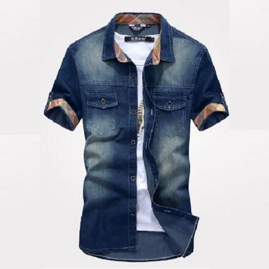 Stylish Denim Shirts (3 Colors - 5 Sizes) - Kwikibuy Amazon Global