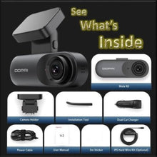 Load image into Gallery viewer, Night Vision 2K iOS Android Dash Cam - Kwikibuy Amazon Global Online S Hopping Mall 11.11 Festival Android 5.0 /iOS 8.0 or above - Flash: 128Mb - RAM: 1GB Wi-Fi