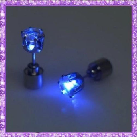 Light Up Earrings (Blue) - Kwikibuy.com™® Official Site
