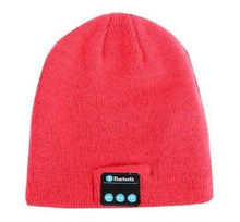 Load image into Gallery viewer, Bluetooth-Smart-Cap-Pink-Pom  - Kwikibuy Amazon Global