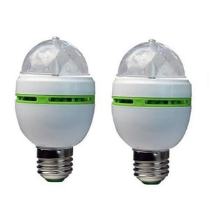 🎃 Party Light Bulbs 2 Pack  - Kwikibuy Amazon Global Online S Hopping Mall Add fun and ambiance to parties, by getting these color-changing rotating globe