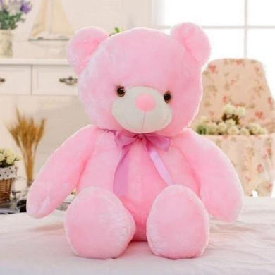 Plush Soft Night Light Pink Teddy Bear (4 Colors - 50 cm)  - Kwikibuy Amazon Global