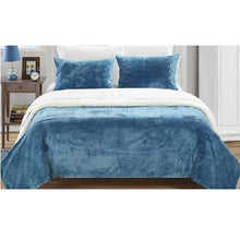 Load image into Gallery viewer, Plush Comforter Set (3 Sizes - 9 Colors)  - Kwikibuy Amazon Global