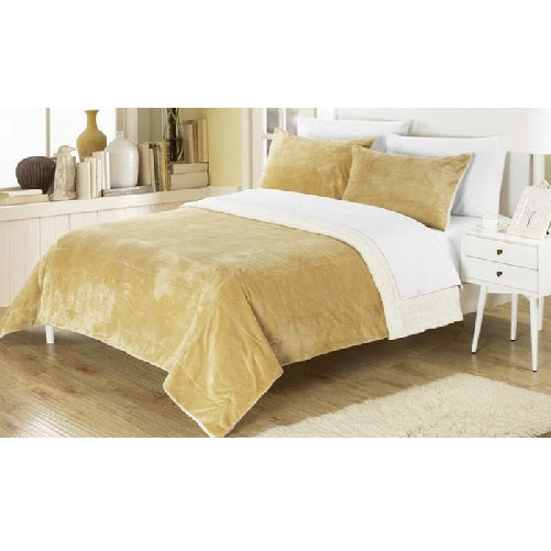 Plush Comforter Set (Camel) | Kwikibuy Amazon