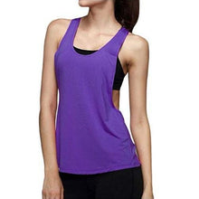 Load image into Gallery viewer, Quick-Dry-Loose-Fitness-Tank-Tops-Light Blue--Buy-One-Get-Two  - Kwikibuy Amazon Global