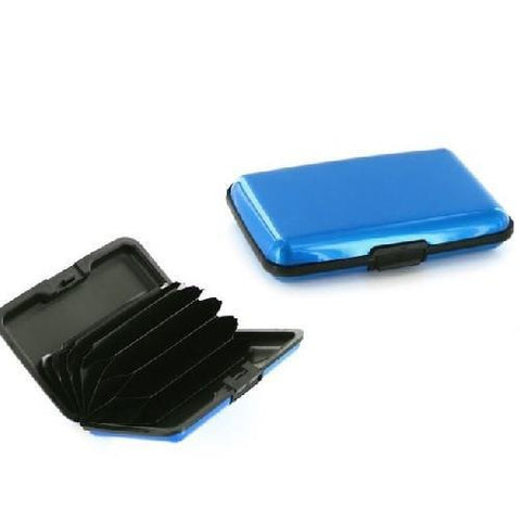 RFID-Blocking Credit Card Wallet $11.99 Blue - Kwikibuy.com™®