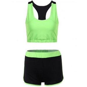 🍀 Razorback Sports Bra and Shorts Set (2 Colors - 4 Sizes)  - Kwikibuy Amazon Global