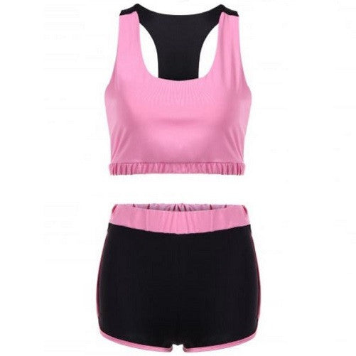 Razorback Sports Bra and Shorts Set (2 Colors - 4 Sizes)  - Kwikibuy Amazon Global