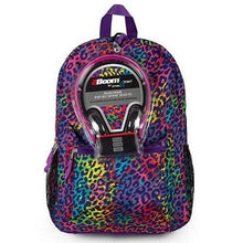Load image into Gallery viewer, Backpack and Headphones Set (4 Colors)  - Kwikibuy Amazon Global Age: 5-12 years Polyester High-quality sound headphones with soft ear grip 3 Colors