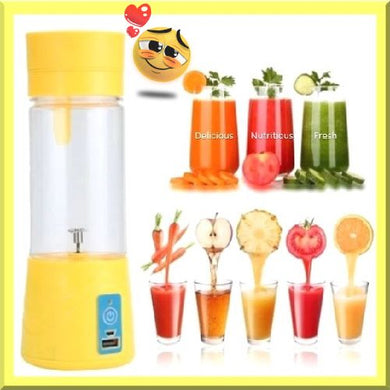 Rechargeable Handheld Milkshake Smoothie Maker (5 Colors) - Kwikibuy Amazon Global 5 Colors: Green, Pink, Purple, Blue or Yellow Fruit and Vegetable Tool