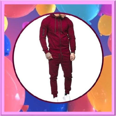 Red-2-Piece-Hoodie-Set  - Kwikibuy Amazon Global