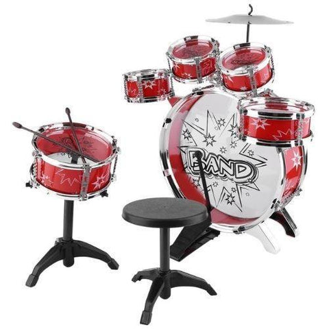 Drum Set (Red Deluxe)  - Kwikibuy Amazon Global