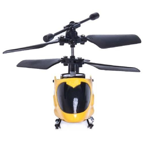 Remote Control Helicopter Aircraft (Yellow) | Kwikibuy Amazon