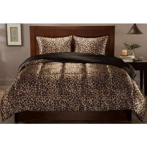 Satin Comforter Leopard Set - Kwikibuy.com Official Site©