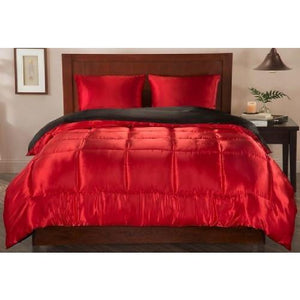 Satin Comforter Set (3 Colors - 2 Sizes)  - Kwikibuy Amazon Global