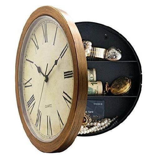 Wall Clock Safe $29.99 Brown - Kwikibuy.com Decor™®