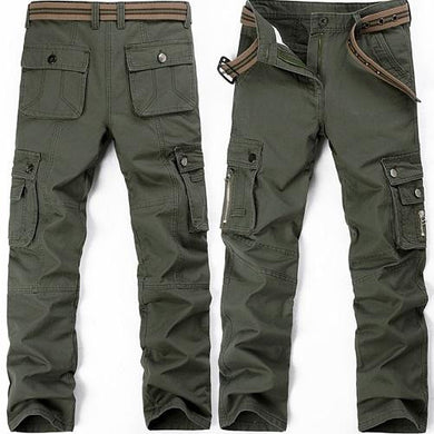 🍀 Safari Army Green Cargo Pants (3 Colors - 9 Sizes)  - Kwikibuy Amazon Global