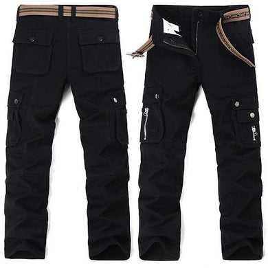 Safari Black Cargo Pants (3 Colors - 9 Sizes)  - Kwikibuy Amazon Global