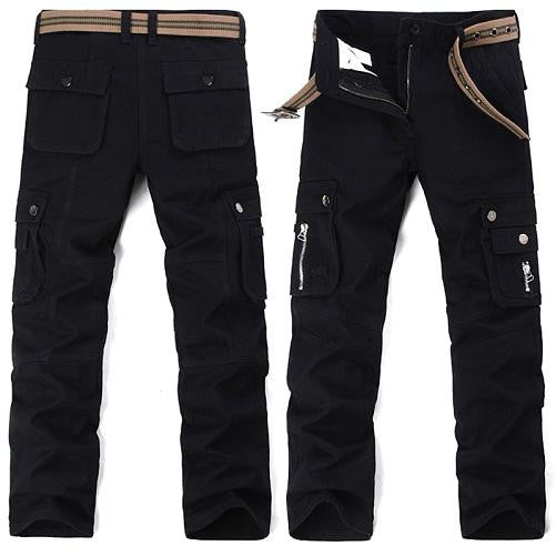 Safari-Cargo-Pants-Black  - Kwikibuy Amazon Global