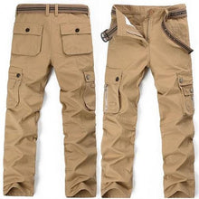 Load image into Gallery viewer, Safari Khaki Cargo Pants (3 Colors - 9 Sizes)  - Kwikibuy Amazon Global