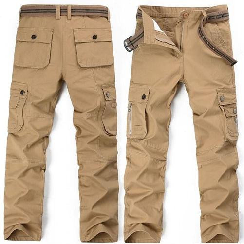 Safari Khaki Cargo Pants (3 Colors - 9 Sizes)  - Kwikibuy Amazon Global