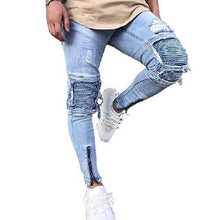 Load image into Gallery viewer, Shabby Fashions Slim Fit Ripped Frayed Denim Jeans (9 Sizes)  - Kwikibuy Amazon Global