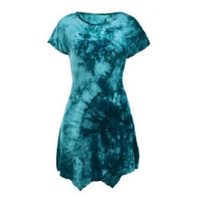 Load image into Gallery viewer, Tie-Dyed Asymmetric Dress  - Kwikibuy Amazon Global