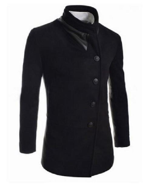 Single-Breasted Wool Overcoat $69.99 - Kwikibuy.com™® Official Site~Free Shipping