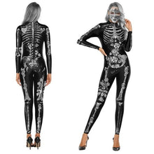 Load image into Gallery viewer, Skeleton Jumpsuit  Halloween Costume (Horror Clown)  - Kwikibuy Amazon Global
