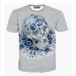 3-D Printed Skull T-Shirts (5 Sizes - 9 Styles)  - Kwikibuy Amazon Global