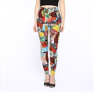 Slim-Leggings-Patchwork-Buy-One-Get-Two  - Kwikibuy Amazon Global